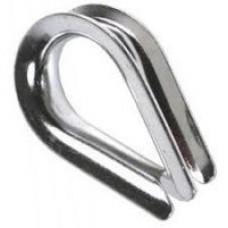 Коуш для стальных канатов 10мм (1 шт)