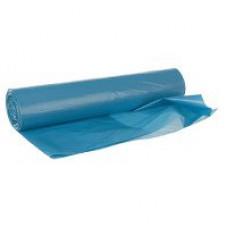Пакеты для мусора 30л, 30шт голубые (1 упак)