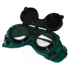 Очки газосварщика с откидн.стеклами (1 шт)